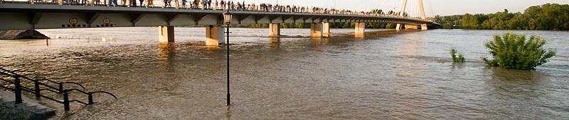fala powodziowa w Warszawie 2010