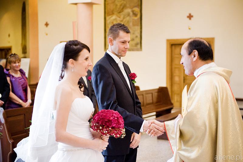 Ślub w Kościele Bł. Władysława z Gielniowa, Warszawa
