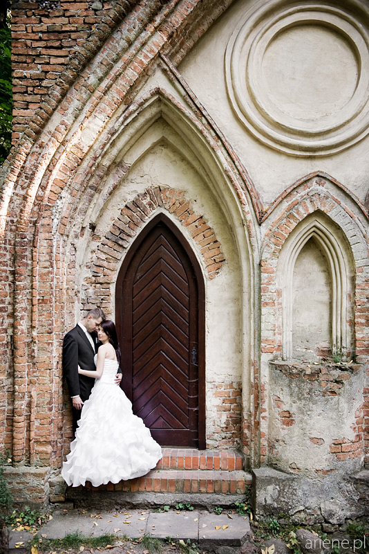Sesja ślubna plenerowa w Parku Arkadia