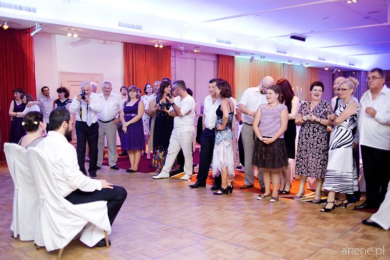 wesele w Hotelu Mazurkas