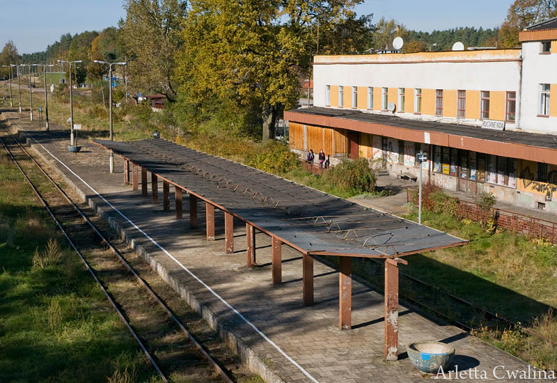 Dworzec PKP w Rucianem Nidzie