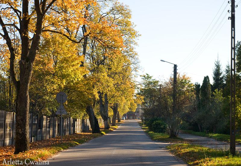 ulica w Rucianem Nidzie
