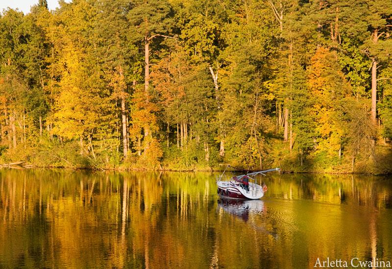 jezioro w Rucianem Nidzie