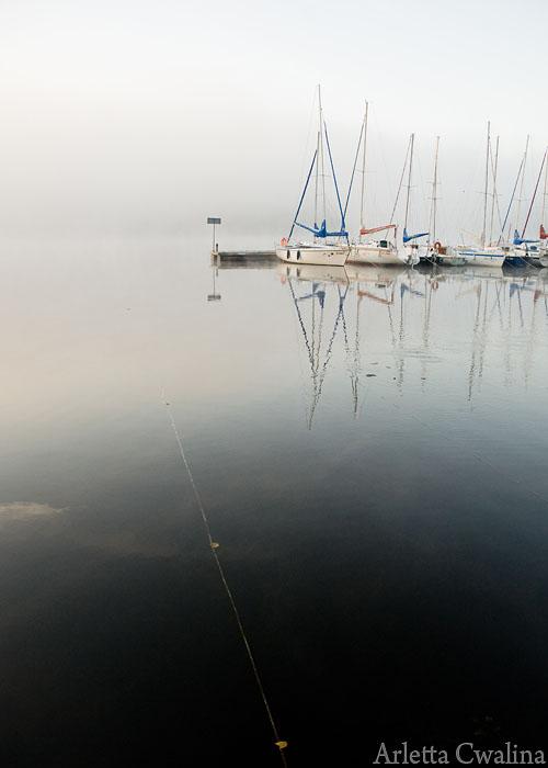 żaglówki na jeziorze Nidzkim w Rucianem Nidzie