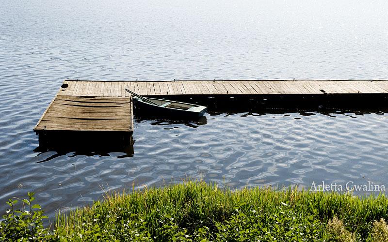 most na jeziorze Nidzkim w Rucianem Nidzie, Perła Jezior