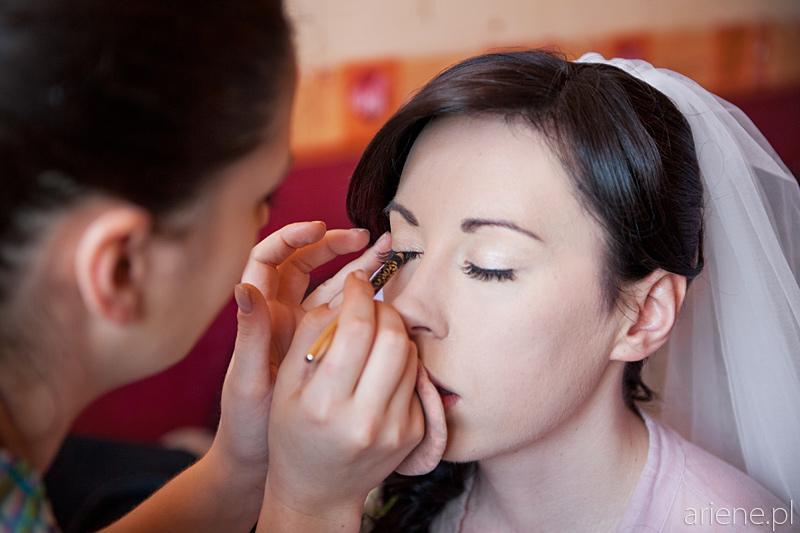 przygotowania do ślubu, makijaż