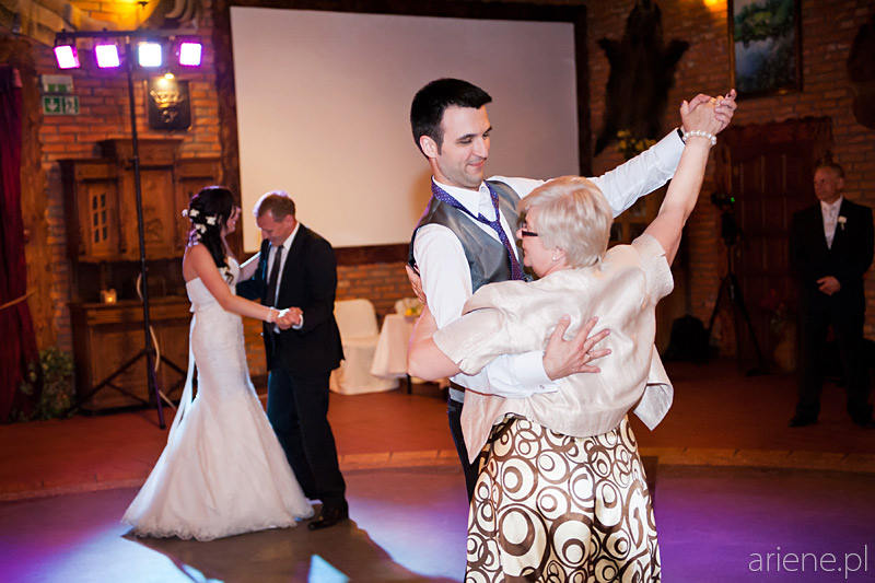 wesele w sali Rycerskiej w Klubie Galop w Zielonce