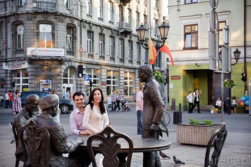 sesja ślubna w Łodzi