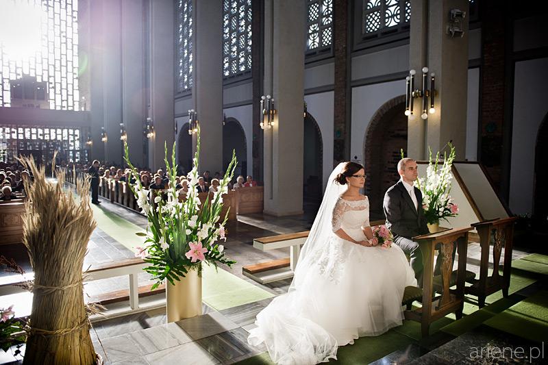 ślub w Kośc. Św. Michała Archanioła w Warszawie