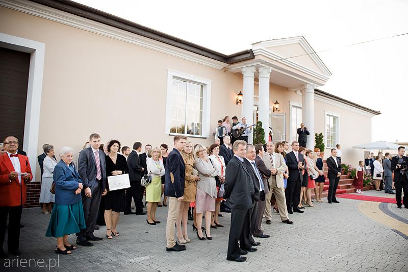 wesele w sali Karter