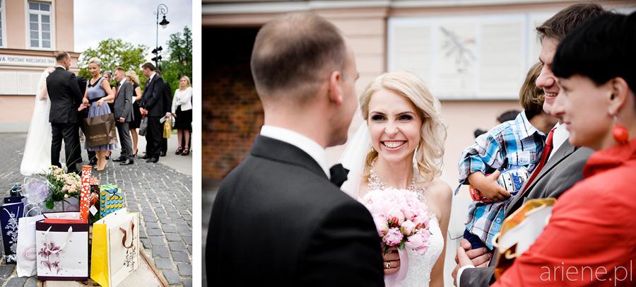 fotografia ślubna w Katedrze Wojska Polskiego
