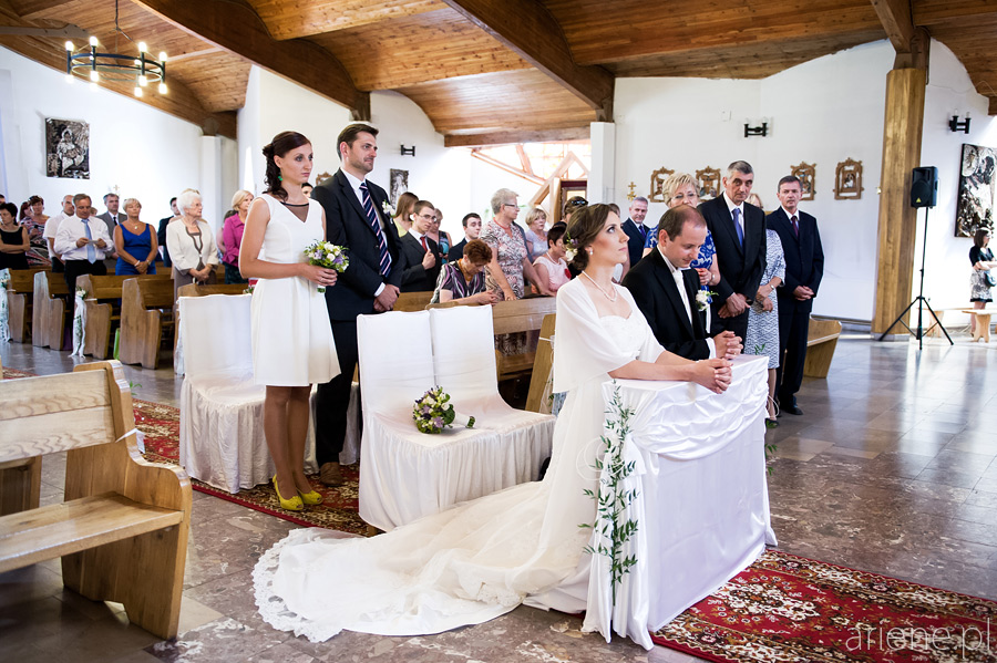 Dorota i Marek ślubują w Otwocku