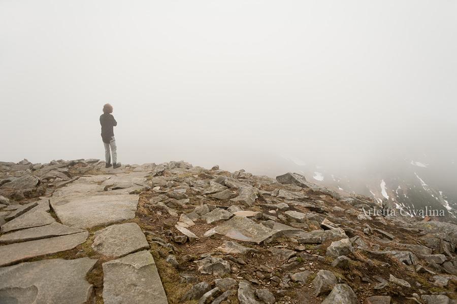 na szczycie Babia Góra