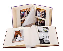 Album ślubny ze zdjęciami