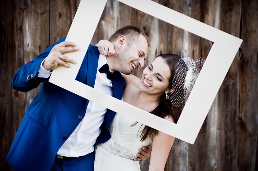 Zdjęcie ślubne, para młoda