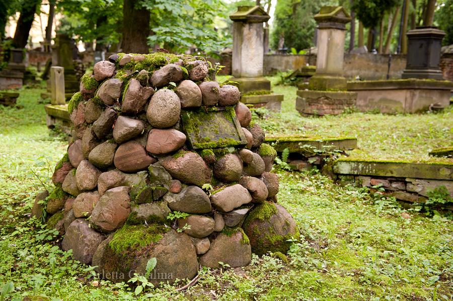 kamienny grób w Lublinie