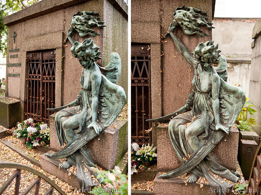 pomniki na cmentarzu