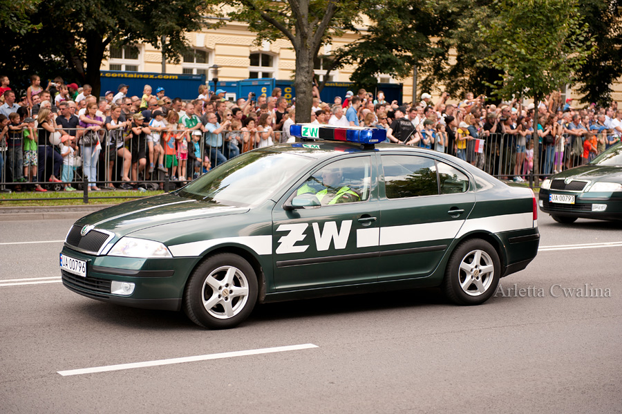 pojazdy Żandarmerii Wojskowej
