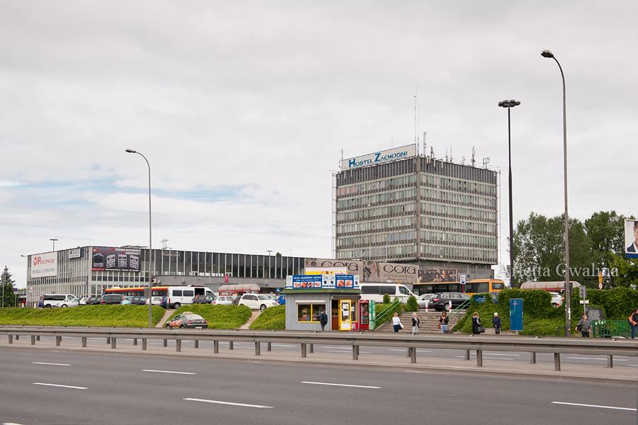 Dworzec Zachodni z zewnątrz