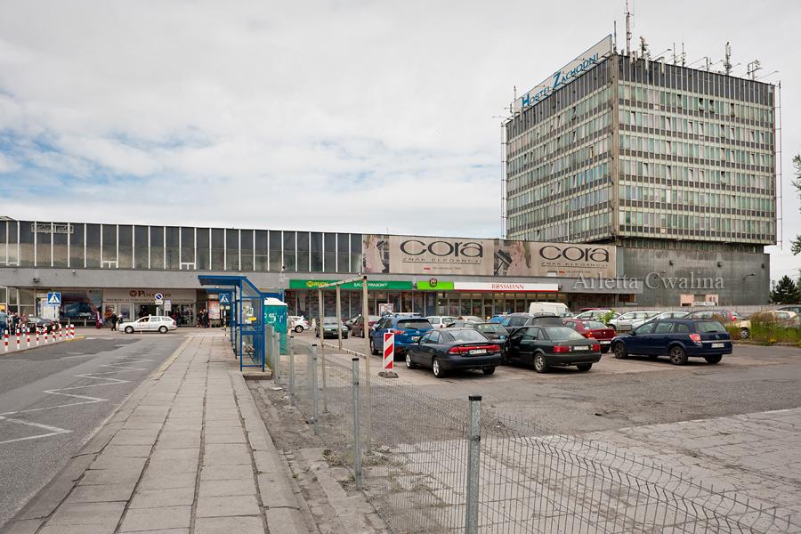 budynek Dworzec Zachodni w Warszawie