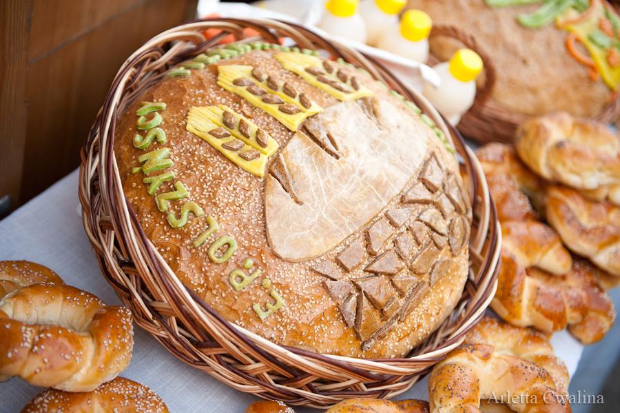 ozdobny chleb