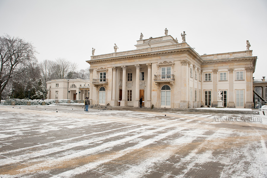 muzeum w Łazienkach Królewskich