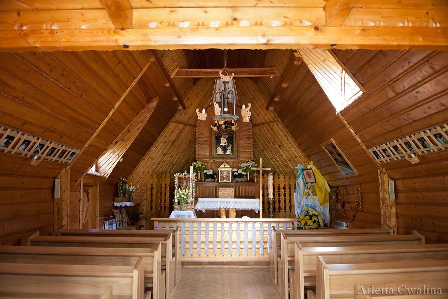Kaplica Matki Boskiej Różańcowej na Gubałówce wnętrze