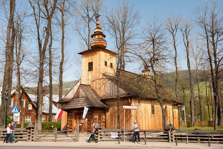 Kosciol Matki Bozej Czestochowskiej w Zakopanem