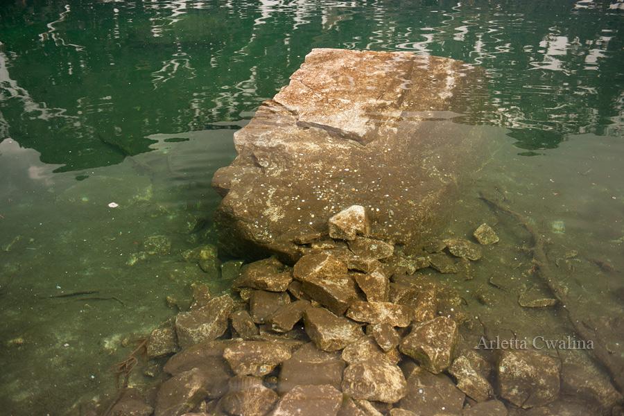krystalicznie czysta woda w Tatrach