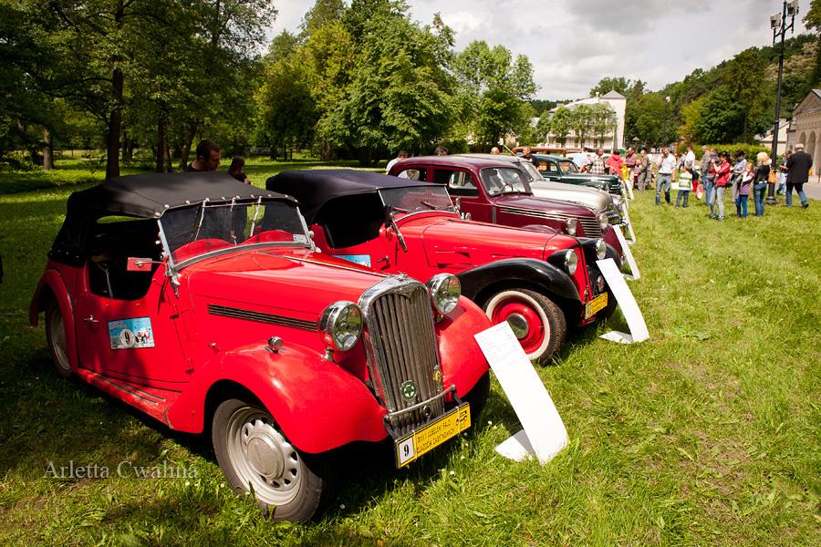 Singer 9 Roadster oraz Polish Fiat 508 III s