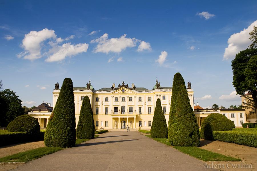 widok na Pałac Branickich w Białymstoku