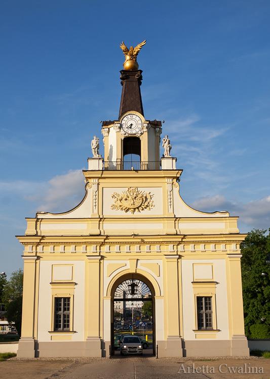 brama wjazdowa w Pałacu Branickich w Białymstoku