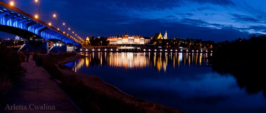 panorama Starówki w Warszawie