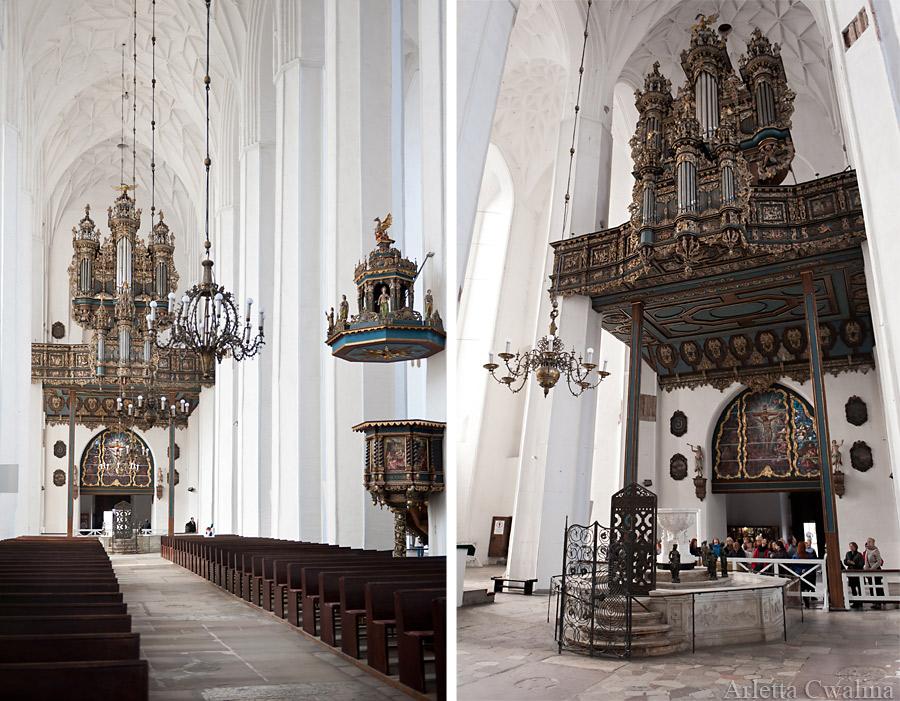 organy w kościele mariackim