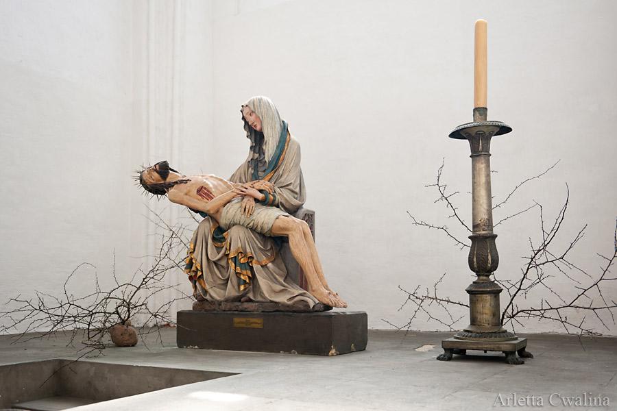 Pieta w kościele Mariackim