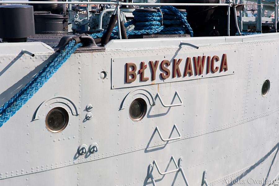 statek Błyskawica