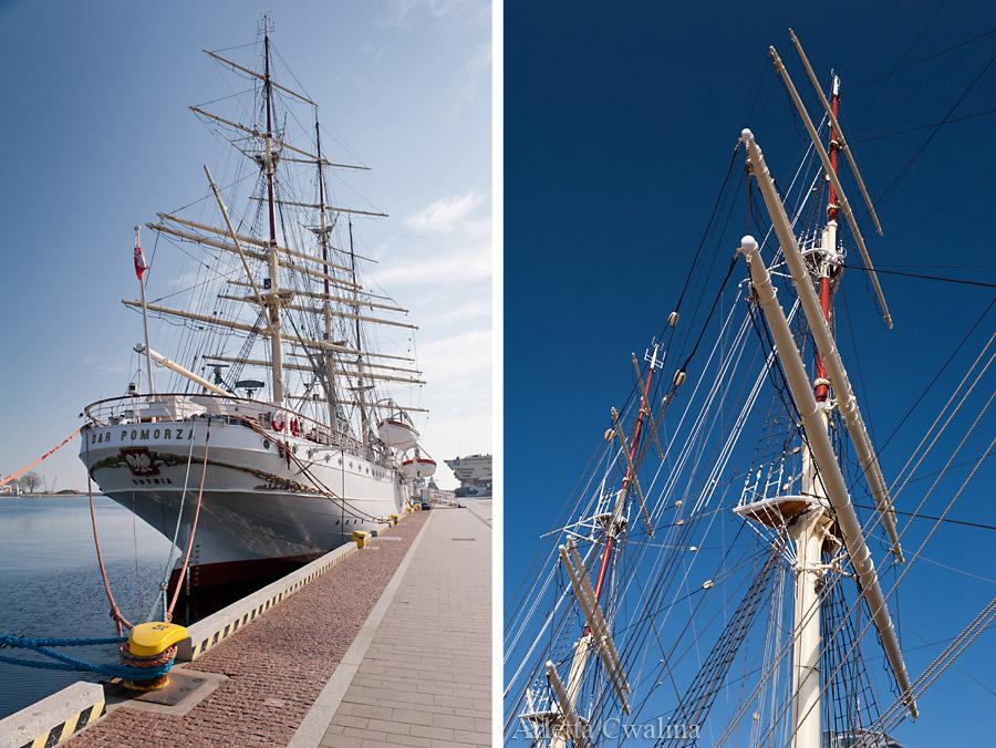 Dar Pomorza w Porcie Gdynia
