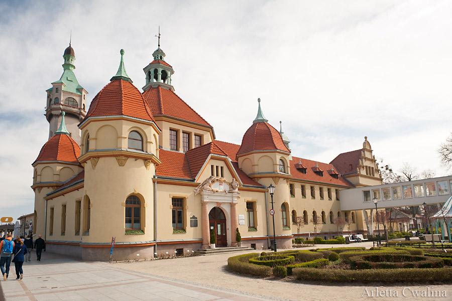 budynek szpitala w Sopocie