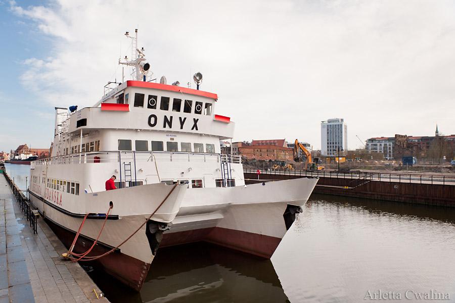 Statek Onyx w Gdańsku