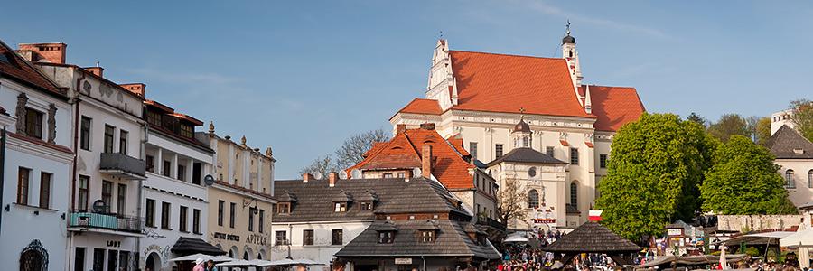 Majówka w Kazimierzu Dolnym i na Janowcu